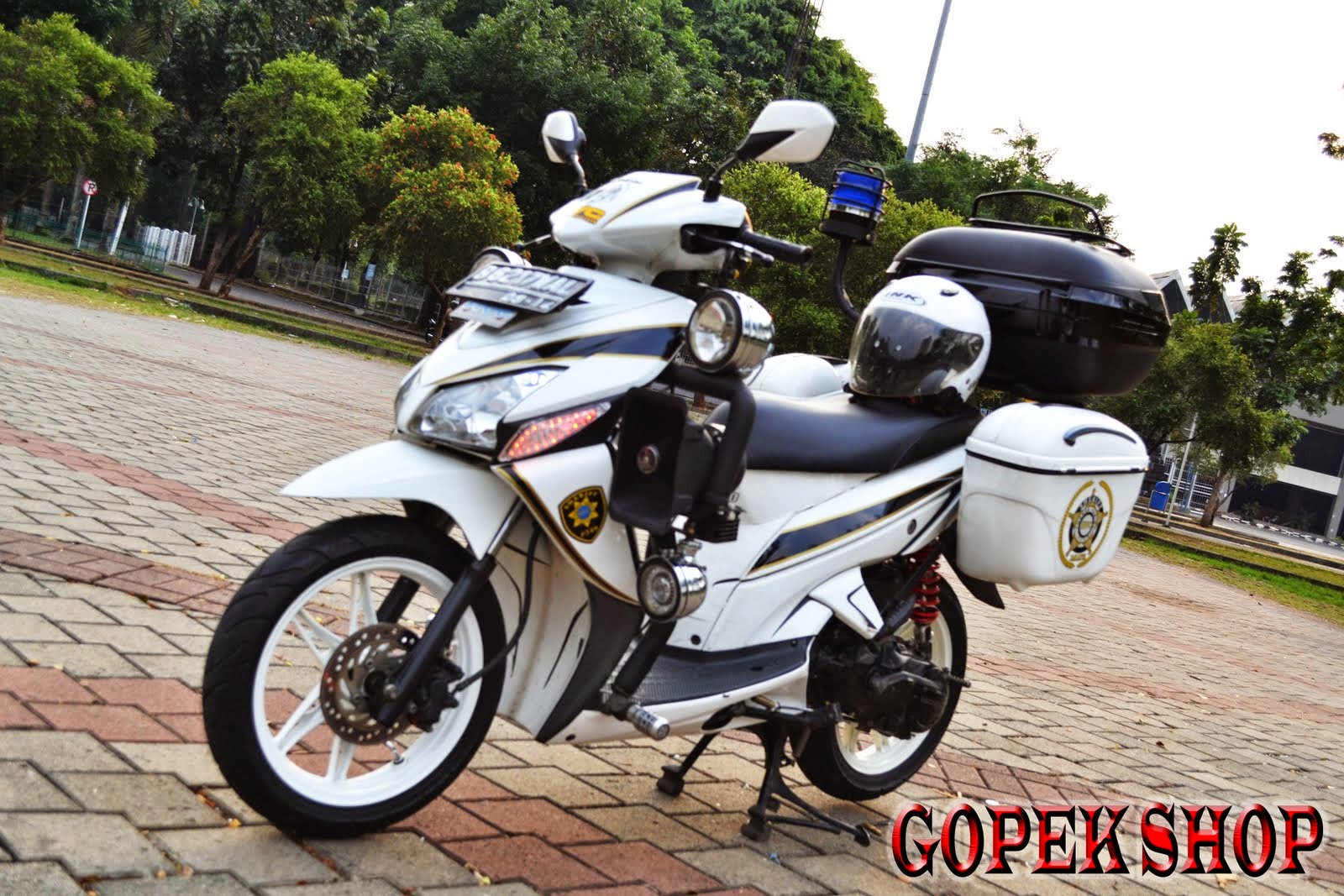 Top modifikasi mio buat touring
