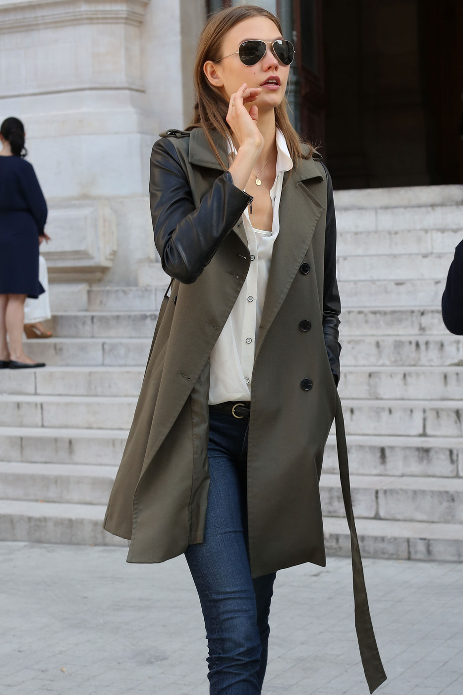 12 Fresh Ways to Wear a Trench Coat Inspired by Models Street