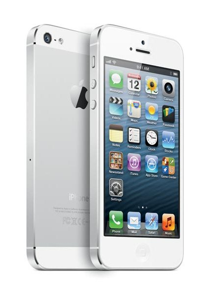 Apple iPhone 5 White/Silver