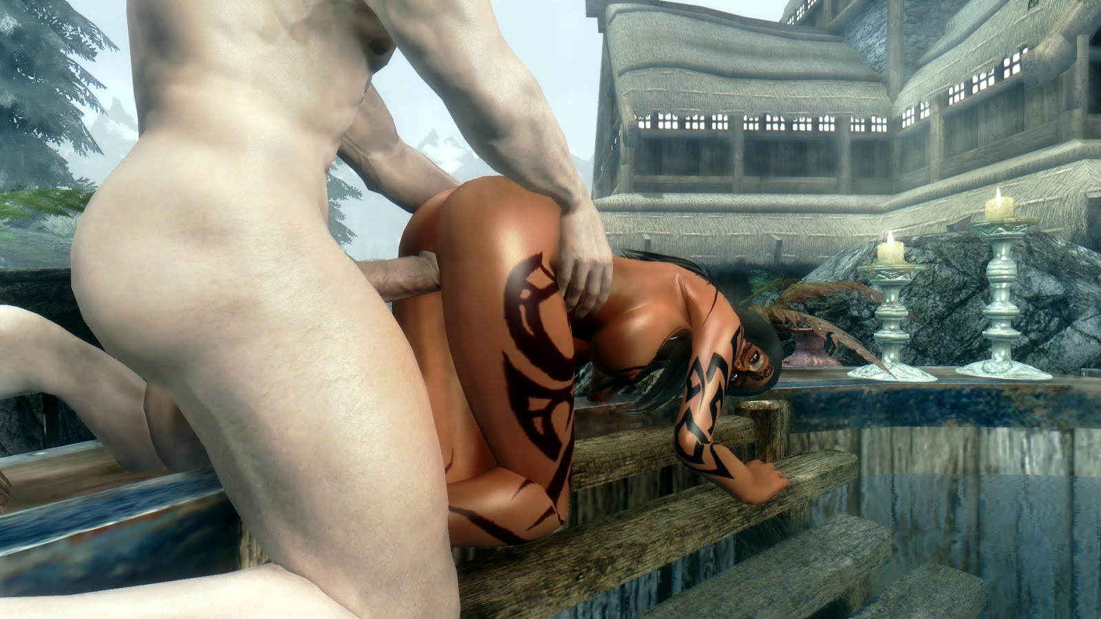 Naked skin mod skyrim xxx video