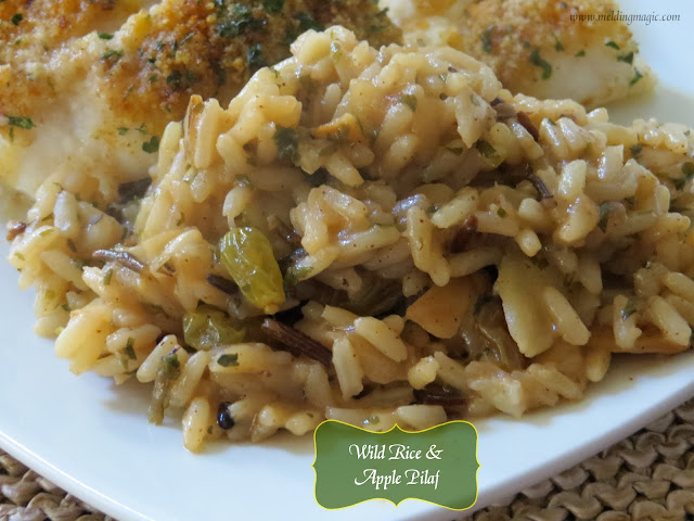 Wild Rice & Apple Pilaf