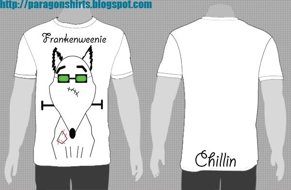 Frankenweenie Shirt Chillin
