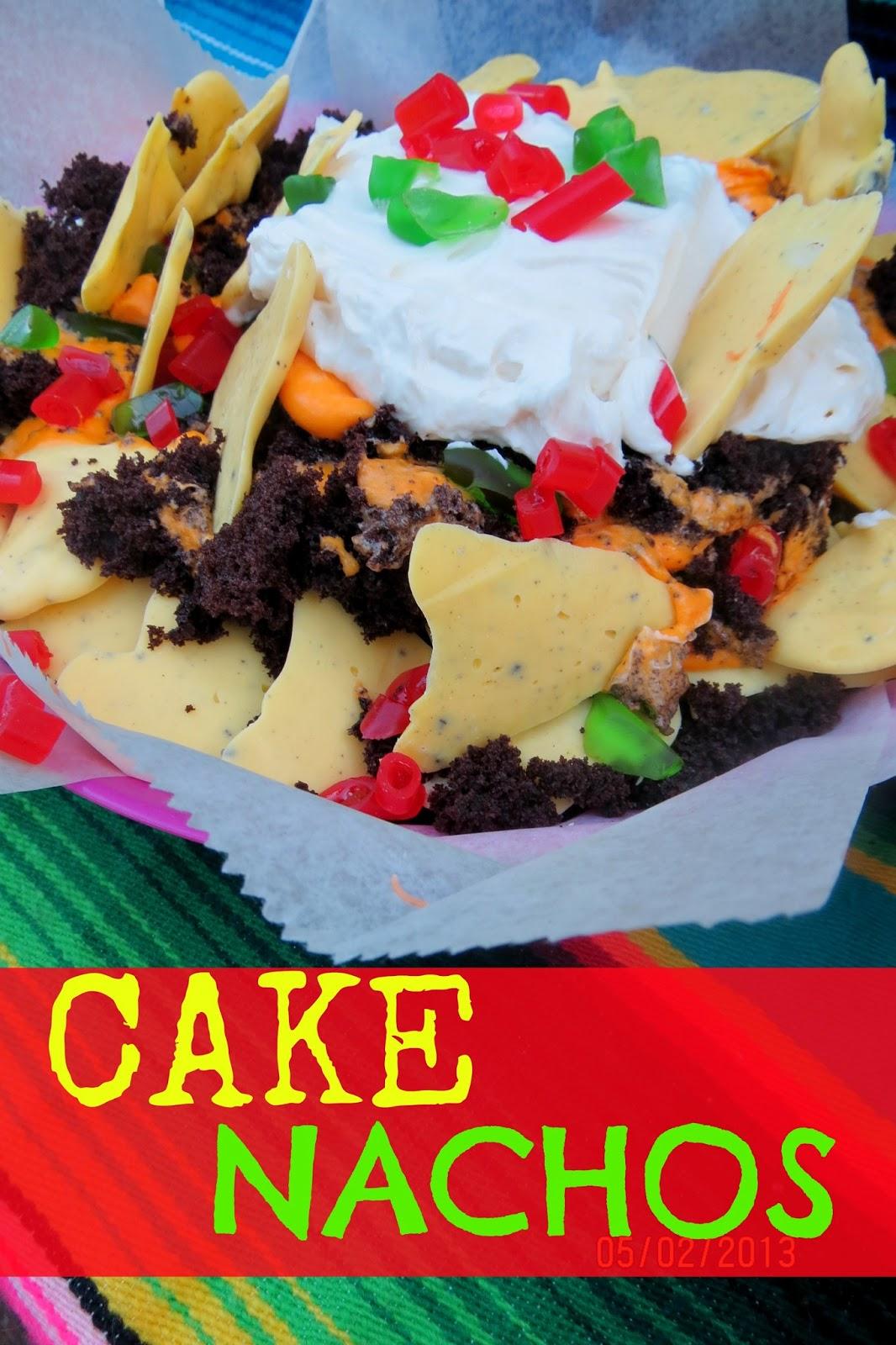 Chica Chocolatina The Ultimate Cake Nachos