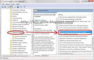 Cara Membatasi akses pengguna ke sebuah drive (hard Disk) tertentu di Windows 71