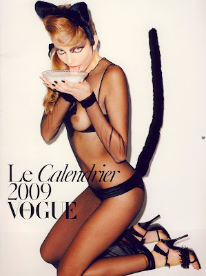 2009 Vogue Paris Pin Up Calendar