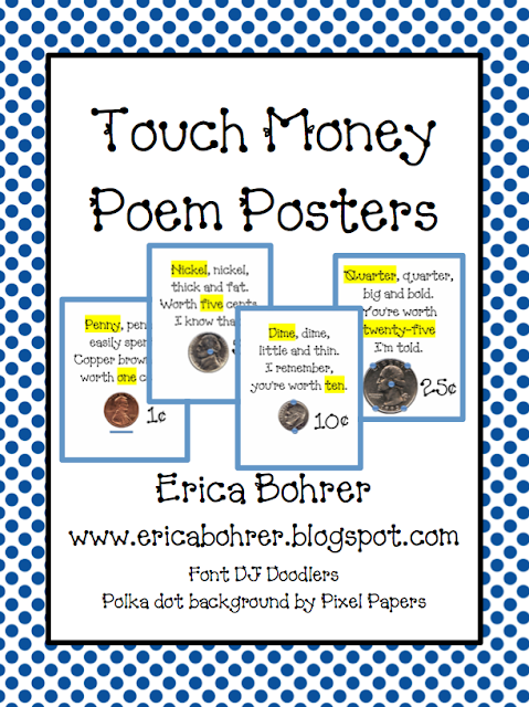 math worksheet : touch math  touch money  erica s ed ventures : Touch Math Printable Worksheets