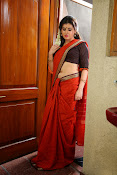 Archana veda in red saree photos-thumbnail-3