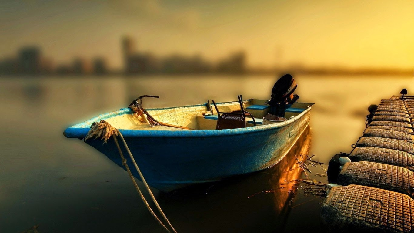 Water Nature Boats Fishing Sea