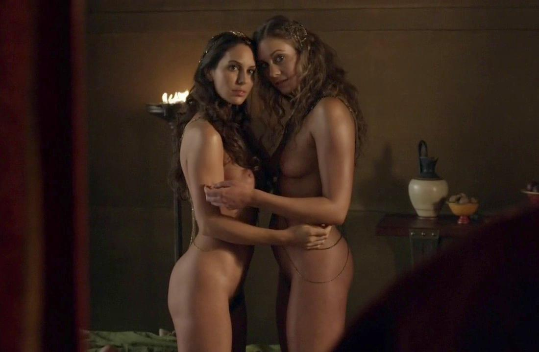 spartacus blood and sand threesome