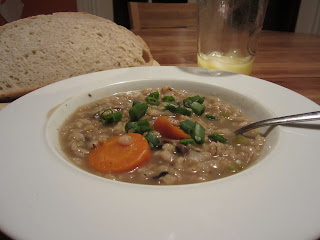 Vegan Mushroom Barley Soup Galactosemia MilkFree DairyFree