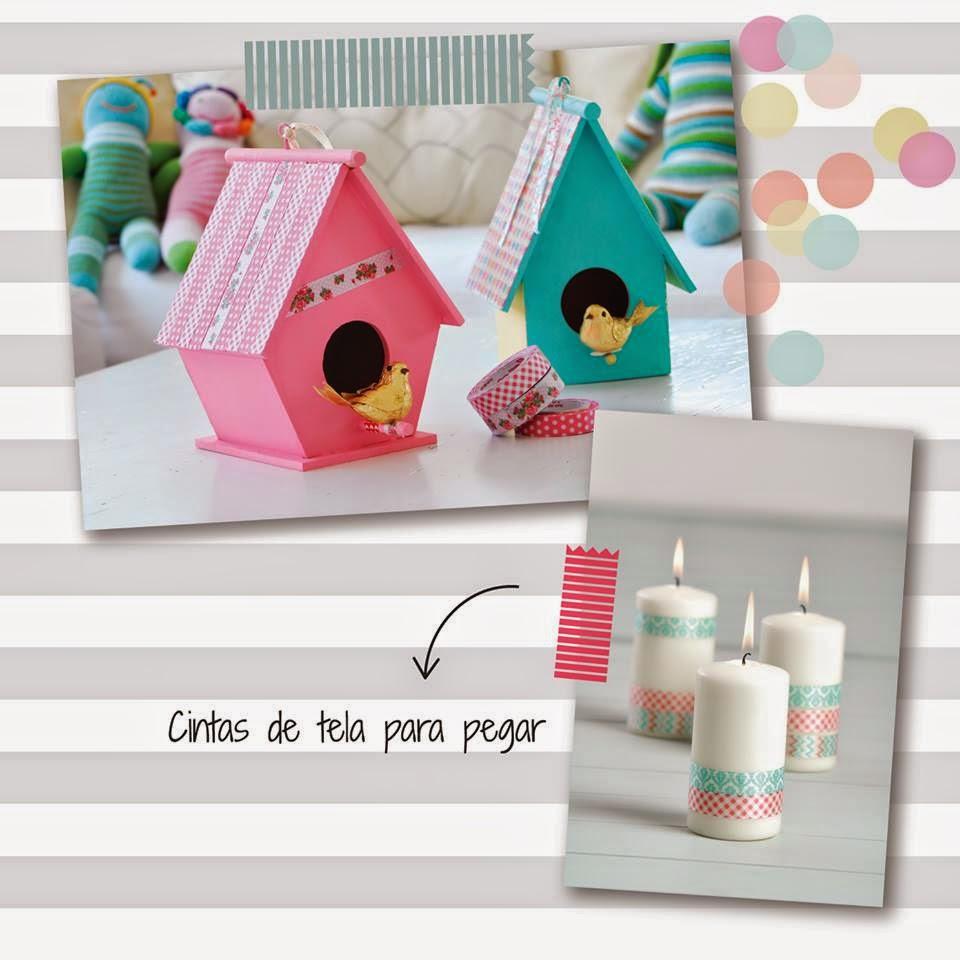 cintas de tela adhesiva para decorar y pegar
