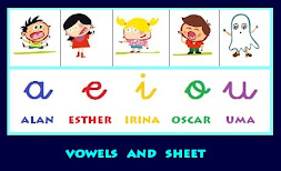 Vowels and sheet
