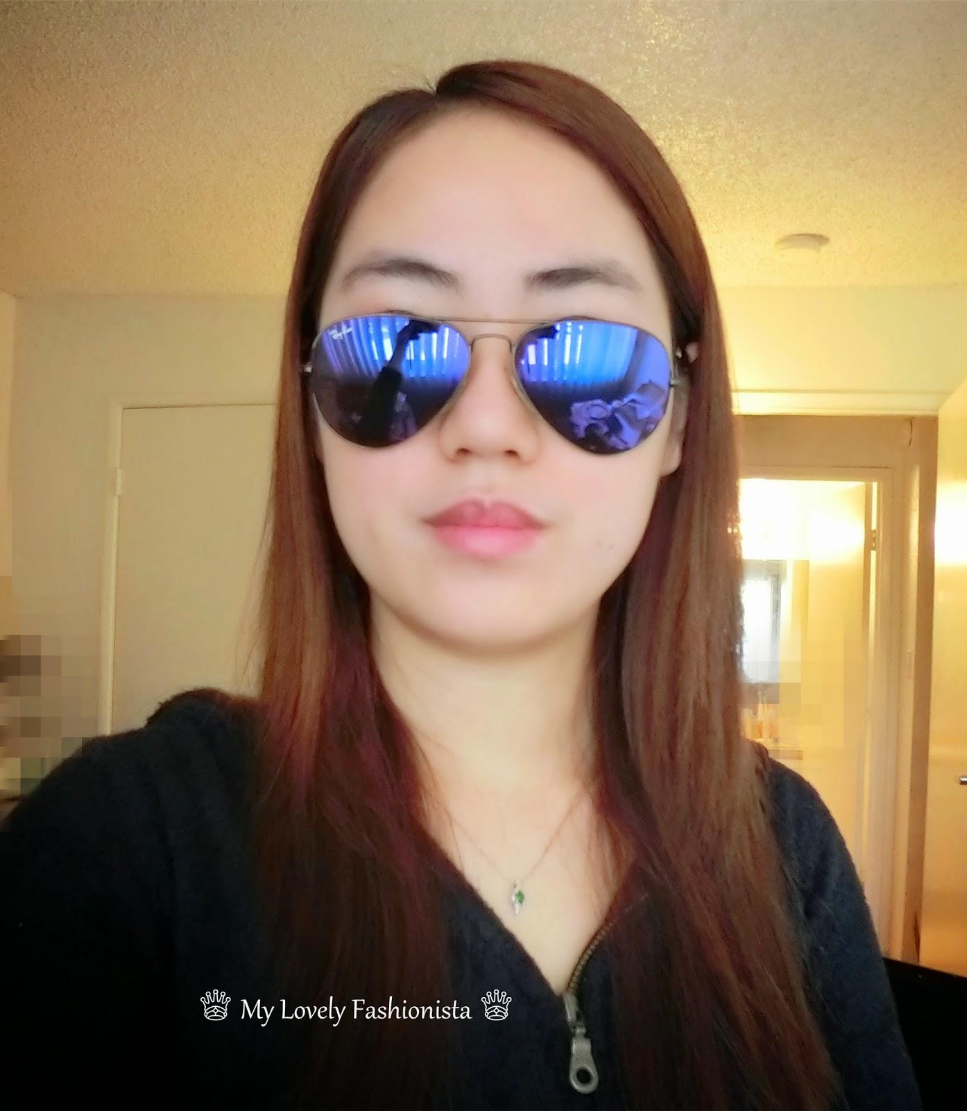 Ray-Ban \'Original Aviator\' 58mm Sunglasses, Bronze/ Lilac Mirror ...