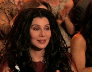 Cher in the 'Dancing With The Stars' audience