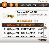 Podcast BÉJAR FM