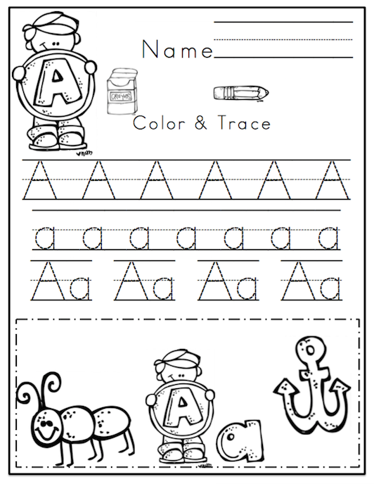 Gratifying image throughout kindergarten packet printable
