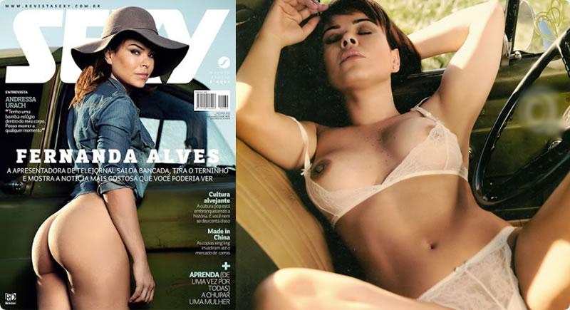 Sexy Outubro – Fernanda Alves