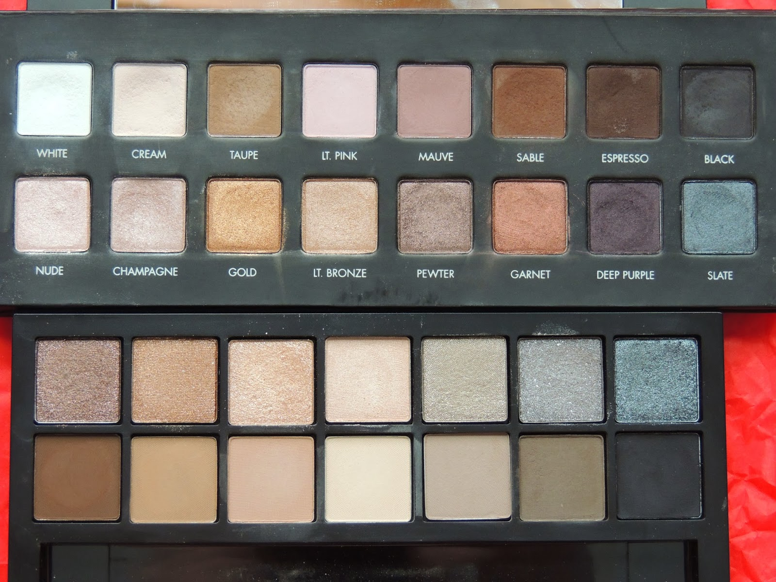 Brittany S Secret Smashbox Full Exposure Palette Vs Lorac