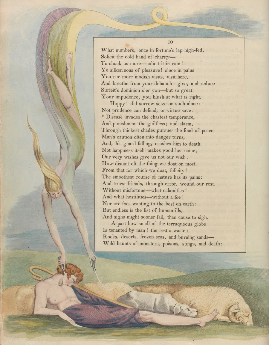 Night Thoughts of William Blake