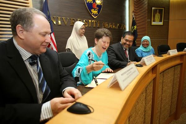 University of Malaya (UM) & University of Nottingham Sign Dual PhD Programme Agreement
