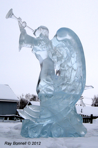 Ice angel earlier this...