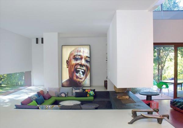 The well appointed catwalk sunken living rooms la mad men - Interior design udine ...