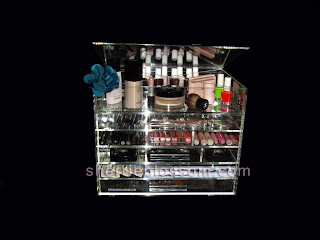 Clear Cube acrylic makeup organizer