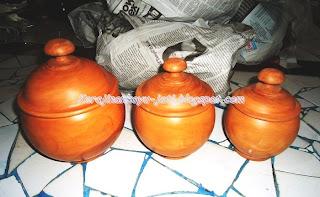 Jual Toples Lebaran Kayu Jati