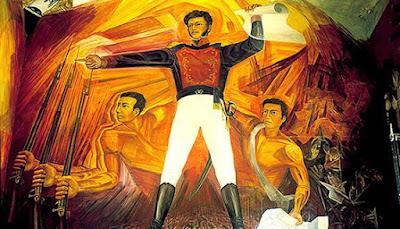 Mural de Vicente Guerrero