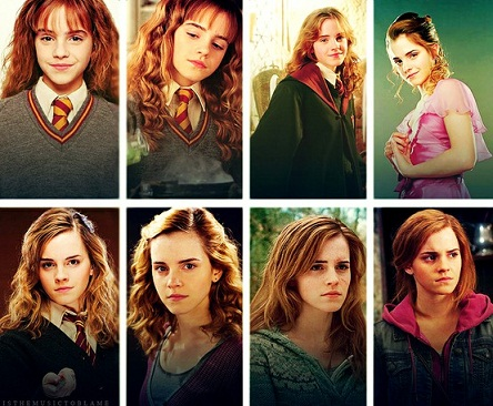 Hermione évolution film
