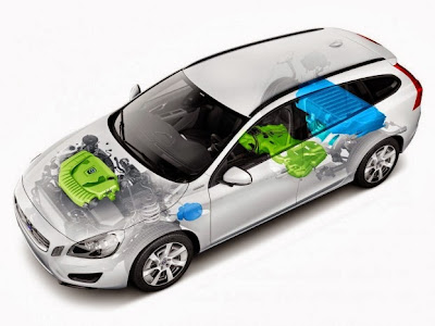 Refillable hybrid gasoline for future Volvo XC90 TwinEngine