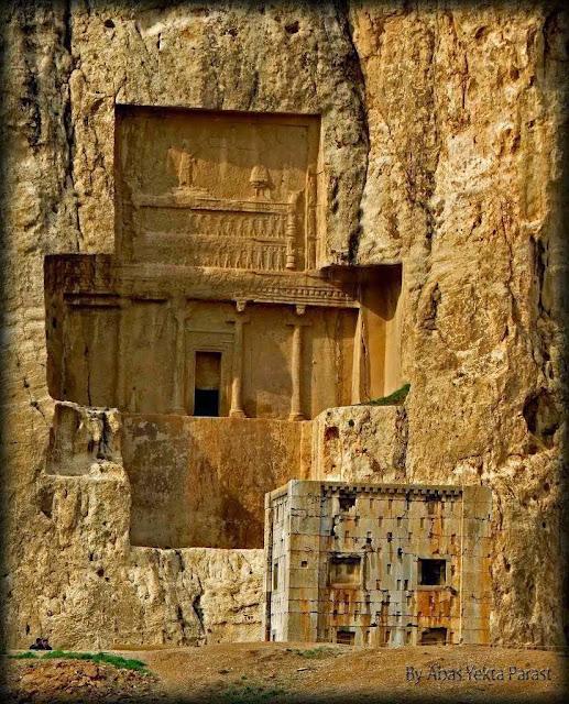 Túmulo do rei persa Artaxerxes I, (465-425/424 a.C.). Esdras 4:7, etc