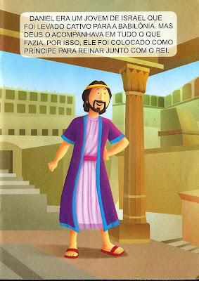 Daniel - história bíblica ilustrada