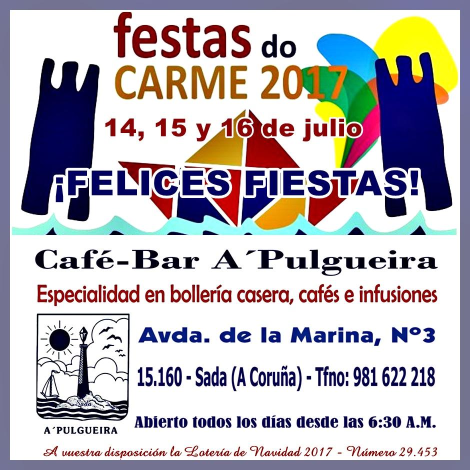 FELICES FIESTAS DEL CARMEN!!!