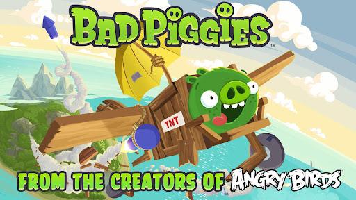 Bad Piggies Game Baru Dari Pengembang Angry Birds