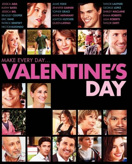 Cover art for the film, Valentine's Day
