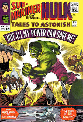 Tales to Astonish #75, the Hulk
