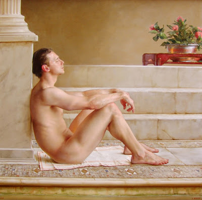 Los Desnudos Art Sticos Masculinos Pintor Paulbrown Usa