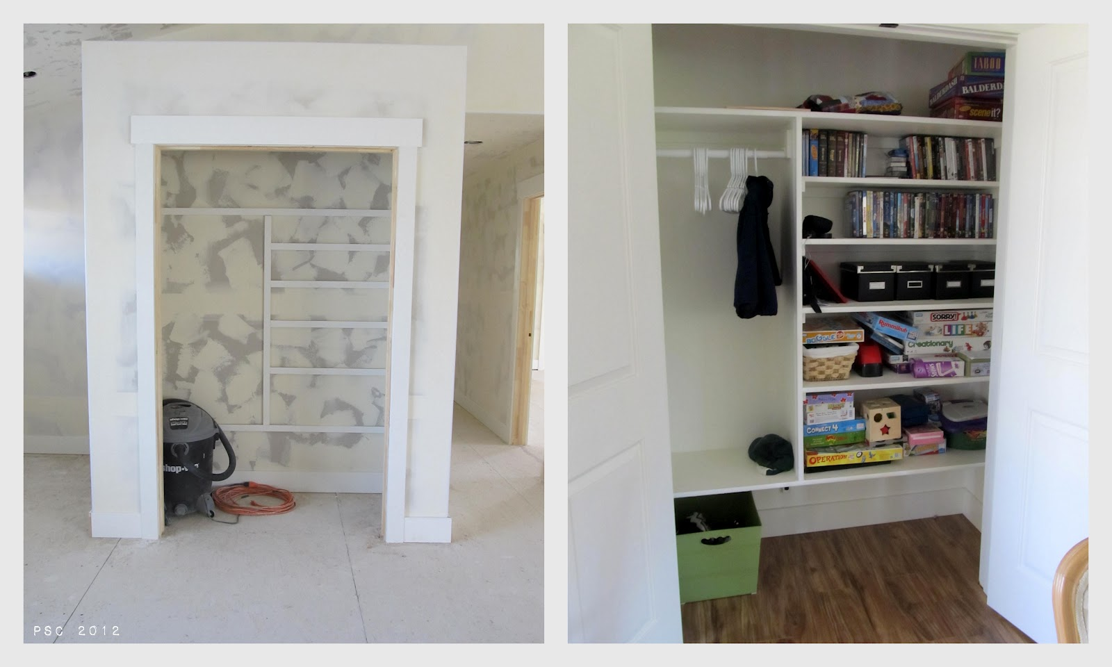 pickup some creativity tips for diy closet shelving. Black Bedroom Furniture Sets. Home Design Ideas