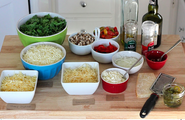 pizza topping bar