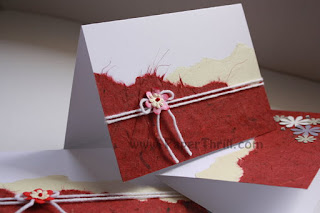 Any day handmade invitation cards