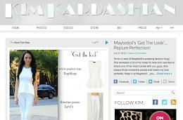 featured on Kim kardashian's blog 07-16-2012