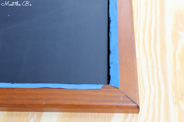 Trash to Treasure: Cabinet doors to chalkboards