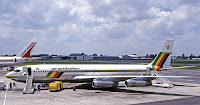 Air Zimbabwe 707 in better days at Harare