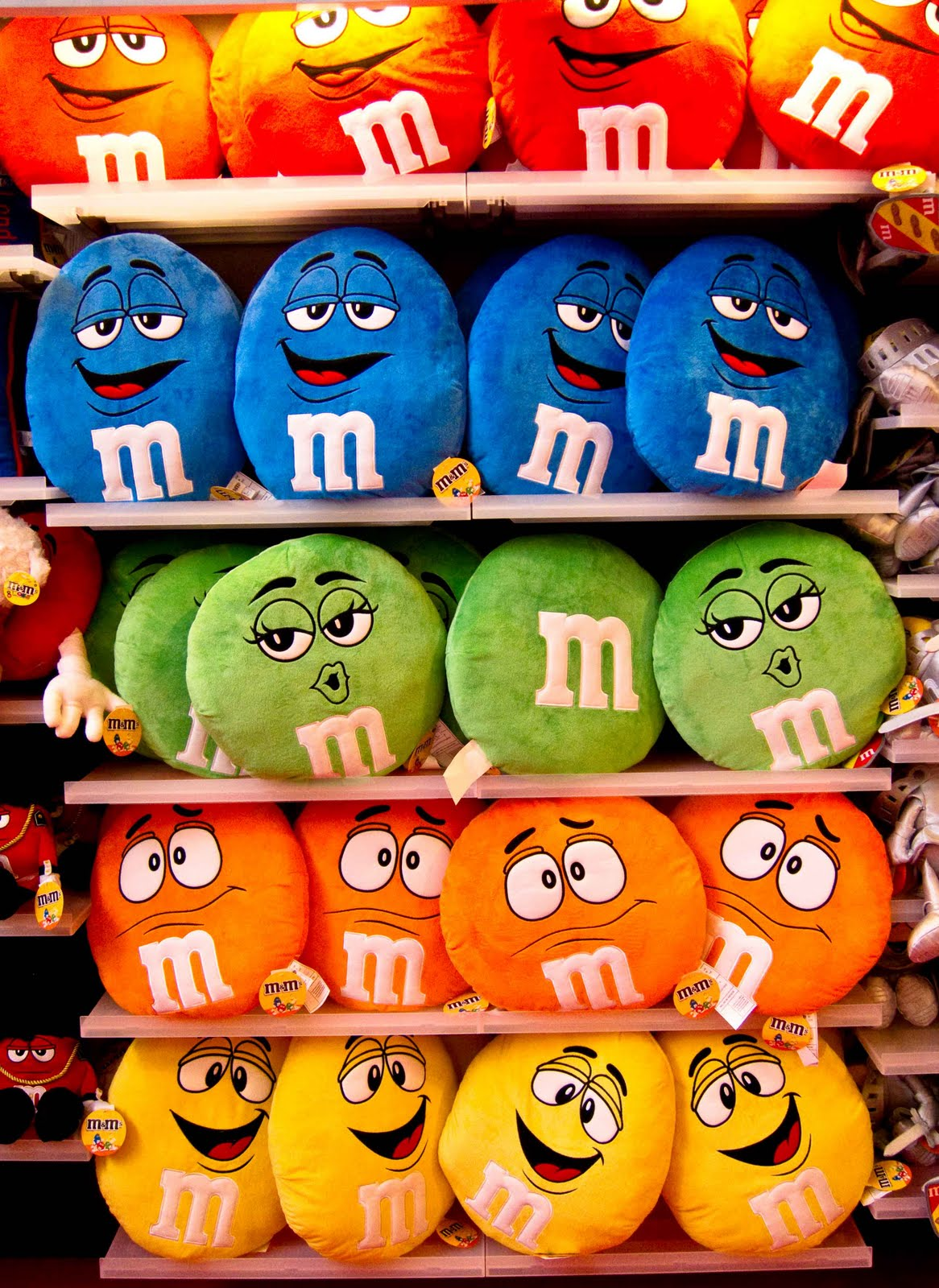 M amp M CANDY CHARACTERS  Pinterest