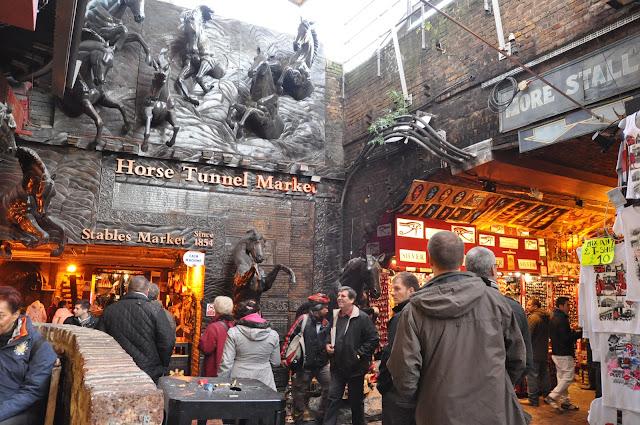 Camden Town Market Horse Tunnel Stables Market