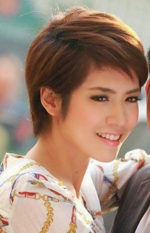 pictures of cute short asian haircut for 2014 short