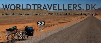 Expedição Mundial de Bike - Trajeto Santiago/Chile a Mendoza/Argentina