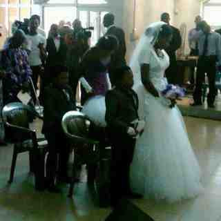 PICTURES From Chinedu Ikedieze aka Aki's Secret Wedding Today 2