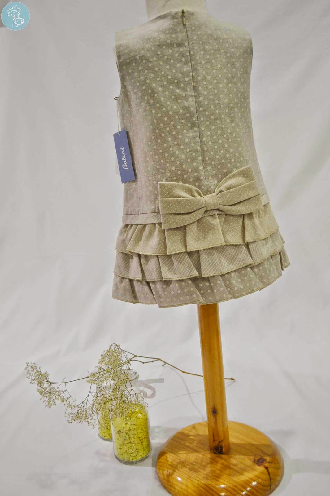 Vestido infantil niña Babiné en Tienda -Blog- Retamalmodainfantil